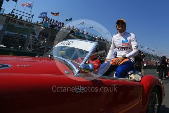 World © Octane Photographic Ltd. Formula 1 – Australian GP Drivers' parade. McLaren MCL34 – Carlos Sainz. Melbourne, Australia. Sunday 17th March 2019.