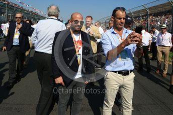 World © Octane Photographic Ltd. Formula 1 - Australian GP - Grid. Celebrity Chef from Masterchef Australia - George Calombaris. Albert Park, Melbourne, Australia. Sunday 17th March 2019
