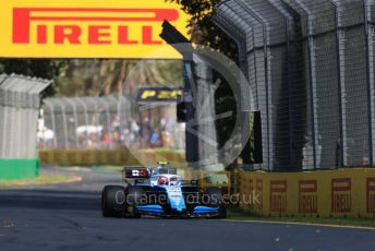 World © Octane Photographic Ltd. Formula 1 – Australian GP Practice 1. ROKiT Williams Racing – Robert Kubica. Friday 15th Melbourne, Australia. Friday 15th March 2019.