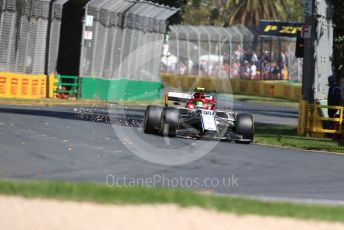 World © Octane Photographic Ltd. Formula 1 – Australian GP Practice 1. Alfa Romeo Racing C38 – Antonio Giovinazzi. Friday 15th Melbourne, Australia. Friday 15th March 2019.