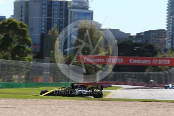 World © Octane Photographic Ltd. Formula 1 – Australian GP Practice 1. Renault Sport F1 Team RS19 – Daniel Ricciardo. Friday 15th Melbourne, Australia. Friday 15th March 2019.