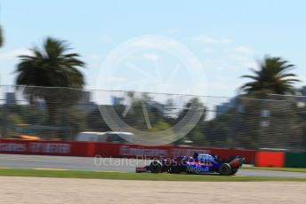 World © Octane Photographic Ltd. Formula 1 – Australian GP Practice 1. Scuderia Toro Rosso STR14 – Daniil Kvyat. Friday 15th Melbourne, Australia. Friday 15th March 2019.