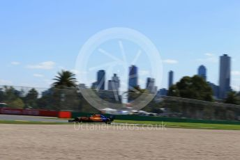 World © Octane Photographic Ltd. Formula 1 – Australian GP Practice 1. McLaren MCL34 – Carlos Sainz. Friday 15th Melbourne, Australia. Friday 15th March 2019.