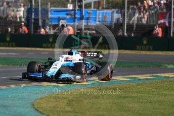 World © Octane Photographic Ltd. Formula 1 – Australian GP Practice 2. ROKiT Williams Racing – Robert Kubica. Friday 15th Melbourne, Australia. Friday 15th March 2019.