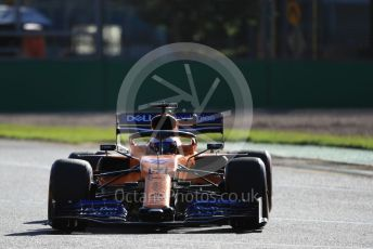 World © Octane Photographic Ltd. Formula 1 – Australian GP Practice 2. McLaren MCL34 – Carlos Sainz. Friday 15th Melbourne, Australia. Friday 15th March 2019.