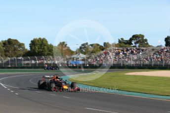 World © Octane Photographic Ltd. Formula 1 – Australian GP Practice 2. Aston Martin Red Bull Racing RB15 – Max Verstappen. Friday 15th Melbourne, Australia. Friday 15th March 2019.