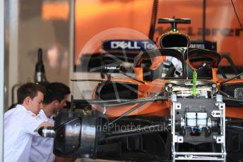 World © Octane Photographic Ltd. Formula 1 – Australian GP Practice 3. McLaren MCL34 – Carlos Sainz. Saturday 16th Melbourne, Australia. Saturday 16th March 2019.