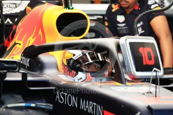 World © Octane Photographic Ltd. Formula 1 – Australian GP Practice 3. Aston Martin Red Bull Racing RB15 – Pierre Gasly. Saturday 16th Melbourne, Australia. Saturday 16th March 2019.