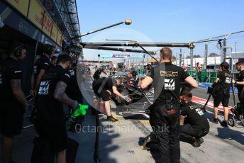 World © Octane Photographic Ltd. Formula 1 – Australian GP Practice 3. Rich Energy Haas F1 Team VF19 – Kevin Magnussen. Saturday 16th Melbourne, Australia. Saturday 16th March 2019.