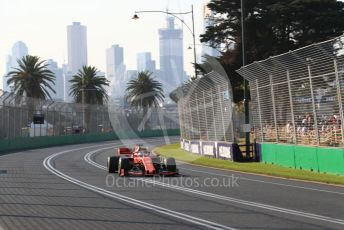 World © Octane Photographic Ltd. Formula 1 – Australian GP Qualifying. Scuderia Ferrari SF90 – Sebastian Vettel. Melbourne, Australia. Saturday 16th March 2019.