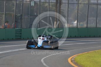 World © Octane Photographic Ltd. Formula 1 – Australian GP Qualifying. ROKiT Williams Racing – George Russell.  Melbourne, Australia. Saturday 16th March 2019.