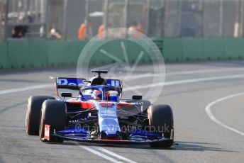 World © Octane Photographic Ltd. Formula 1 – Australian GP Qualifying. Scuderia Toro Rosso STR14 – Daniil Kvyat. Melbourne, Australia. Saturday 16th March 2019.
