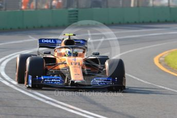 World © Octane Photographic Ltd. Formula 1 – Australian GP Qualifying. McLaren MCL34 – Lando Norris. Melbourne, Australia. Saturday 16th March 2019.