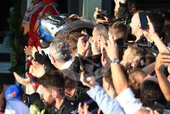 World © Octane Photographic Ltd. Formula 1 – Australian GP Parc Ferme. Mercedes AMG Petronas Motorsport AMG F1 W10 EQ Power+ - Valtteri Bottas. Melbourne, Australia. Sunday 17th March 2019.