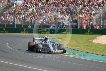 World © Octane Photographic Ltd. Formula 1 – Australian GP Race. Mercedes AMG Petronas Motorsport AMG F1 W10 EQ Power+ - Valtteri Bottas. Melbourne, Australia. Sunday 17th March 2019.