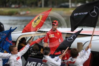 World © Octane Photographic Ltd. Formula 1 – Australian GP. Scuderia Ferrari SF90 – Sebastian Vettel. F1 Season launch, Melbourne, Australia. Wednesday 13th March 2019.