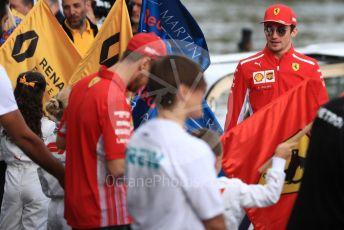 World © Octane Photographic Ltd. Formula 1 – Australian GP. Scuderia Ferrari SF90 – Charles Leclerc. F1 Season launch, Melbourne, Australia. Wednesday 13th March 2019.