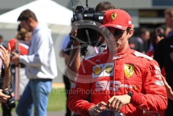 World © Octane Photographic Ltd. Formula 1 – Australian GP FIA Driver photo call. Scuderia Ferrari SF90 – Charles Leclerc. Thursday 14th Melbourne, Australia. Thursday 14th March 2019.