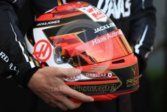World © Octane Photographic Ltd. Formula 1 – Australian GP FIA Driver photo call. Rich Energy Haas F1 Team VF19 – Kevin Magnussen. Thursday 14th Melbourne, Australia. Thursday 14th March 2019.