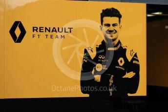World © Octane Photographic Ltd. Formula 1 – Australian GP Pitlane. Renault Sport F1 Team RS19 – Nico Hulkenberg. Friday 15th Melbourne, Australia. Friday 15th March 2019.
