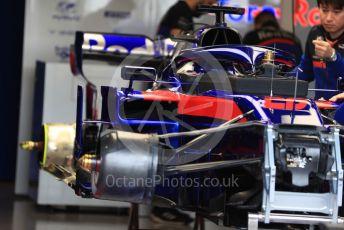 World © Octane Photographic Ltd. Formula 1 – Australian GP Pitlane. Scuderia Toro Rosso STR14 – Daniil Kvyat. Friday 15th Melbourne, Australia. Friday 15th March 2019.