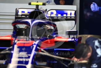 World © Octane Photographic Ltd. Formula 1 – Australian GP Pitlane. Scuderia Toro Rosso STR14 – Alexander Albon. Friday 15th Melbourne, Australia. Friday 15th March 2019.