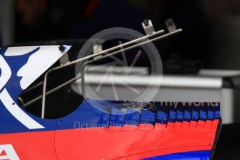 World © Octane Photographic Ltd. Formula 1 – Australian GP Pitlane. Scuderia Toro Rosso STR14. Friday 15th Melbourne, Australia. Friday 15th March 2019.