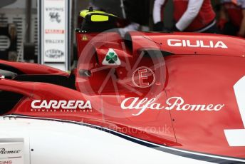 World © Octane Photographic Ltd. Formula 1 – Australian GP Pitlane. Alfa Romeo Racing C38 – Antonio Giovinazzi. Friday 15th Melbourne, Australia. Friday 15th March 2019.