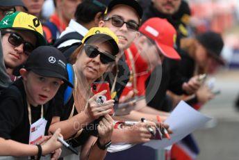 World © Octane Photographic Ltd. Formula 1 – Australian GP Melbourne Walk. Fans waiting for the drivers. Friday 15th Melbourne, Australia. Friday 15th March 2019.