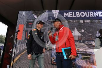 World © Octane Photographic Ltd. Formula 1 – Australian GP Melbourne Walk. Aston Martin Red Bull Racing RB15 – Max Verstappen. Friday 15th Melbourne, Australia. Friday 15th March 2019.