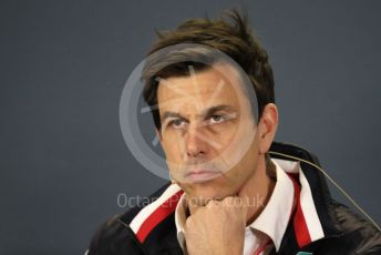World © Octane Photographic Ltd. Formula 1 - Australian GP – Friday FIA Team Press Conference. Toto Wolff - Executive Director & Head of Mercedes - Benz Motorsport. Albert Park, Melbourne, Australia. Friday 15th March 2019