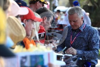 World © Octane Photographic Ltd. Formula 1 - Australian GP - Wednesday - Pit Lane and Setup. Johnny Herbert – Sky Sports. Albert Park, Melbourne, Australia. Saturday 16th March 2019