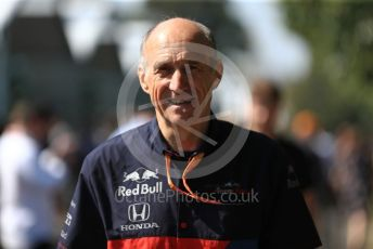 World © Octane Photographic Ltd. Formula 1 - Australian GP - Paddock. Franz Tost – Team Principal of Scuderia Toro Rosso. Albert Park, Melbourne, Australia. Sunday 17th March 2019