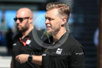 World © Octane Photographic Ltd. Formula 1 – Australian GP Paddock. Rich Energy Haas F1 Team VF19 – Kevin Magnussen. Melbourne, Australia. Sunday 17th March 2019.