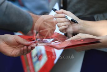 World © Octane Photographic Ltd. Formula 1 – Australian GP fans getting autographs. Thursday 14th Melbourne, Australia. Thursday 14th March 2019.