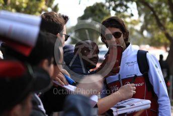World © Octane Photographic Ltd. Formula 1 – Australian GP. Alfa Romeo Racing C38 – Antonio Giovinazzi. Thursday 14th Melbourne, Australia. Thursday 14th March 2019.