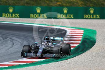 World © Octane Photographic Ltd. Formula 1 – Austrian GP - Practice 2. Mercedes AMG Petronas Motorsport AMG F1 W10 EQ Power+ - Lewis Hamilton. Red Bull Ring, Spielberg, Styria, Austria. Friday 28th June 2019.