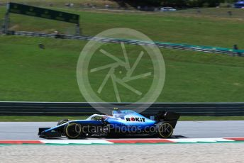 World © Octane Photographic Ltd. Formula 1 – Austrian GP - Practice 2. ROKiT Williams Racing FW42 – Robert Kubica. Red Bull Ring, Spielberg, Styria, Austria. Friday 28th June 2019.