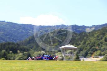 World © Octane Photographic Ltd. Formula 1 – Austrian GP - Practice 2. Scuderia Toro Rosso STR14 – Daniil Kvyat. Red Bull Ring, Spielberg, Styria, Austria. Friday 28th June 2019.
