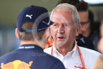 World © Octane Photographic Ltd. Formula 1 - Austrian GP. Practice 3. Helmut Marko - advisor to the Red Bull GmbH Formula One Teams and head of Red Bull's driver development program. Red Bull Ring, Spielberg, Styria, Austria. Saturday 29th June 2019.