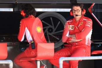 World © Octane Photographic Ltd. Formula 1 - Austrian GP. Practice 3. Mattia Binotto – Team Principal of Scuderia Ferrari. Red Bull Ring, Spielberg, Styria, Austria. Saturday 29th June 2019.