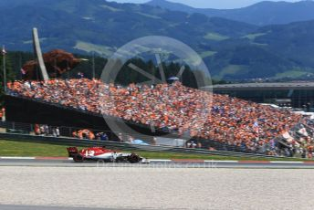 World © Octane Photographic Ltd. Formula 1 – Austrian GP - Qualifying. Alfa Romeo Racing C38 – Kimi Raikkonen. Red Bull Ring, Spielberg, Styria, Austria. Saturday 29th June 2019.