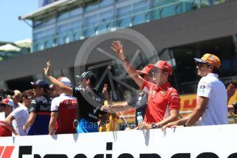 World © Octane Photographic Ltd. Formula 1 – Austrian GP - Drivers Parade. Scuderia Ferrari SF90 – Charles Leclerc. Red Bull Ring, Spielberg, Styria, Austria. Sunday 30th June 2019