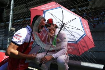 World © Octane Photographic Ltd. Formula 1 – Austrian GP - Grid. Alfa Romeo Racing C38 – Antonio Giovinazzi. Red Bull Ring, Spielberg, Styria, Austria. Sunday 30th June 2019