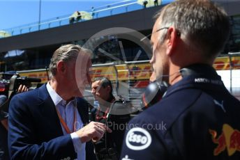 World © Octane Photographic Ltd. Formula 1 – Austrian GP - Paddock. Sean Bratches - Managing Director, Commercial Operations of Liberty Media. Red Bull Ring, Spielberg, Styria, Austria. Sunday 30th June 2019