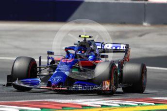 World © Octane Photographic Ltd. Formula 1 – Austrian GP - Practice 1. Scuderia Toro Rosso STR14 – Alexander Albon. Red Bull Ring, Spielberg, Styria, Austria. Friday 28th June 2019.