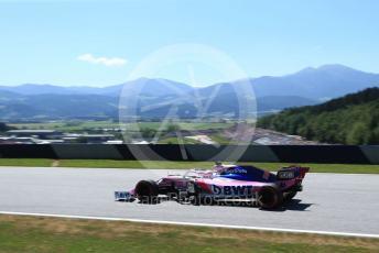 World © Octane Photographic Ltd. Formula 1 – Austrian GP - Practice 1. SportPesa Racing Point RP19 - Sergio Perez. Red Bull Ring, Spielberg, Styria, Austria. Friday 28th June 2019.