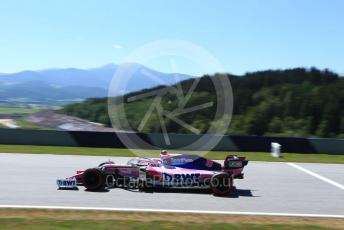World © Octane Photographic Ltd. Formula 1 – Austrian GP - Practice 1. SportPesa Racing Point RP19 – Lance Stroll. Red Bull Ring, Spielberg, Styria, Austria. Friday 28th June 2019.