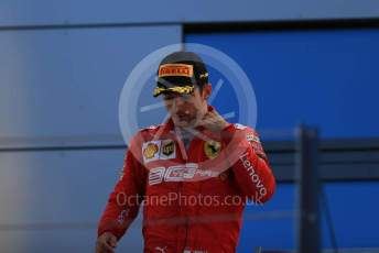 World © Octane Photographic Ltd. Formula 1 – Austrian GP - Podium. Scuderia Ferrari SF90 – Charles Leclerc. Red Bull Ring, Spielberg, Styria, Austria. Sunday 30th June 2019