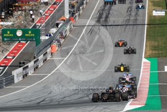 World © Octane Photographic Ltd. Formula 1 – Austrian GP - Race. Rich Energy Haas F1 Team VF19 – Kevin Magnussen. Red Bull Ring, Spielberg, Styria, Austria. Sunday 30th June 2019
